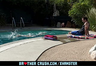 BrotherCrush - Old Stepbrother And Buddy Nail A Super fucking hot Twunk