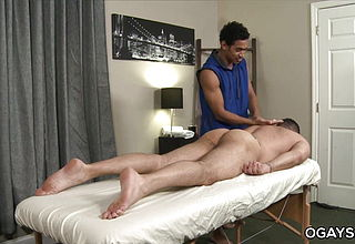Large Cocked Gay Masseuse