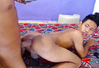 Latino youngsters on webcam