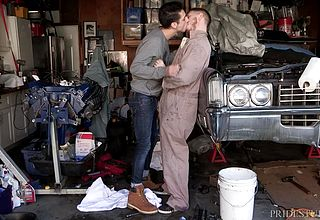 Mechanic work makes them super naughty