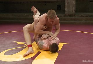 Bare men ravage more than grapple