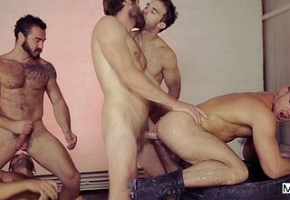 Studs with rock hard peckers partying super naughty