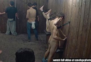 The house of pleasure is filled with tight asses behind gloryholes